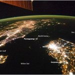 It couldn't get more graphic! RT @TheAtlantic: An astronaut's view of North Korea http://t.co/IWcprkqJqm (NASA/ISS)