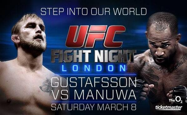 #Competition Follow us & @UFC_UK + RT this tweet for a chance to win a pair of tickets to #UFCLondon on March 8th http://t.co/KoDT6YZngz