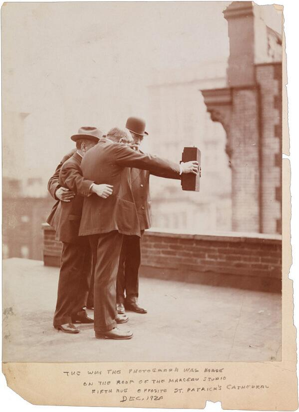 This might be the first selfie in photographic history. http://t.co/BQRfUc5p9h http://t.co/UV0wm1012a