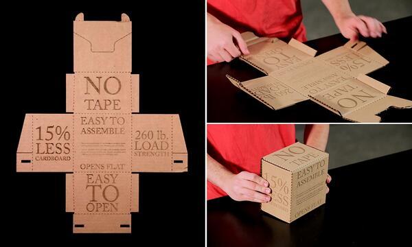 A caixa de papelão do futuro dispensa fita adesiva e se abre apenas com um toque  http://t.co/49Ssfu70Uj http://t.co/XxoaJbloNW