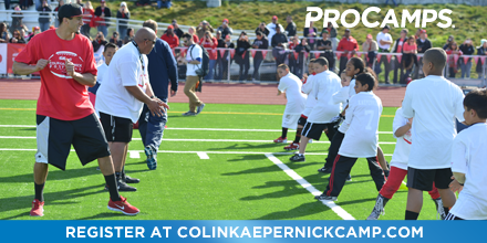 Spots in the @CitiPrivatePass @Kaepernick7 ProCamp in partnership with @StateFarm are filling fast - Sign up today! http://t.co/A2ozWeuIS3