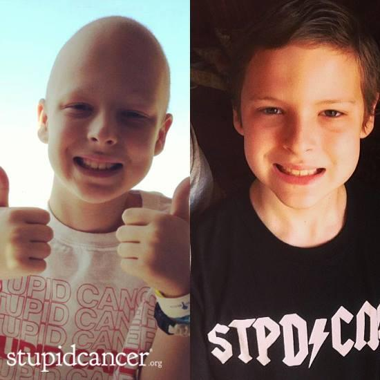 10-year-old Owen is showing Osteosarcoma who's boss. Let's give him retweets as he goes for a checkup today. http://t.co/roRkXspKJ5