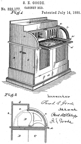 Sarah E. Goode was the first African American woman to get a United States patent. http://t.co/ilUin1xtQ1 http://t.co/PQNgpnBbUM