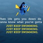 True...Haaha Our kids imitate how Dory says this & laugh RT @DisneyIndia: Here's your thought for the day! #Disney