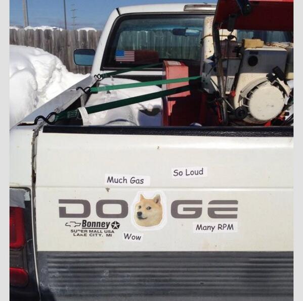 #doge truck. http://t.co/XOfvaFlkaE