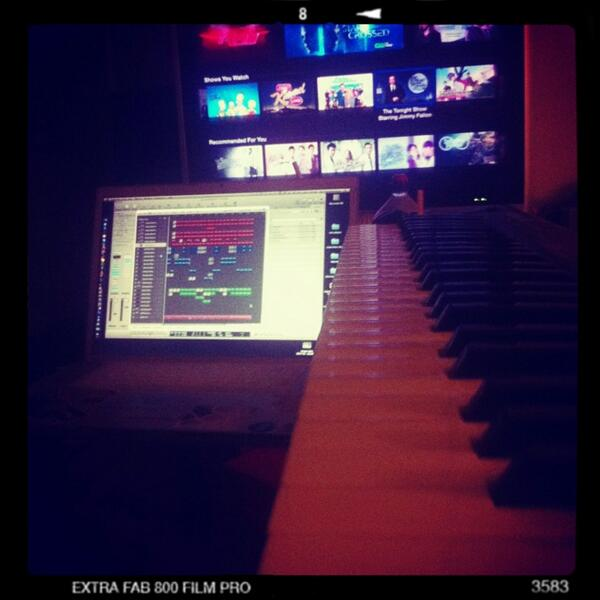 I be working on this Joanlee x Jay Park record....creating it like I'm scoring a movie. Forreal http://t.co/UH1vUqkU8N