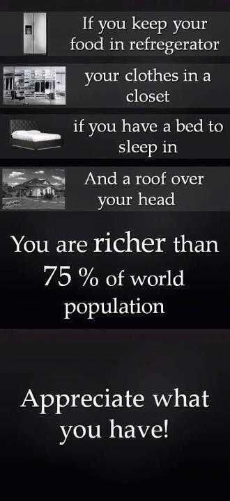 Appreciate what you have! http://t.co/2fx046SigU