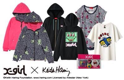 X-girl×Keith Haring コラボアイテム大人気発売中‼1番人気はバックデザインがポイントのフーディー♪ http://t.co/6Nfc4yKFDl http://t.co/yNPJqnSxXR