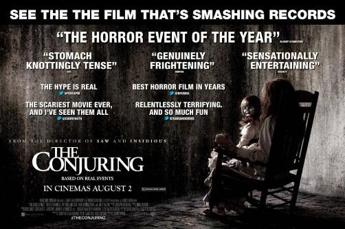 'THE CONJURING 2′ Will Scare Audiences Next October - http://t.co/lievGoDyPw (via @Variety ) ^VN http://t.co/GEHEv9zU3x