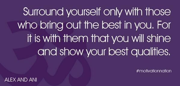 Friends should lift each other's spirits and have the best intentions. #motivationnation http://t.co/Uuxtca85WK via @alexandani
