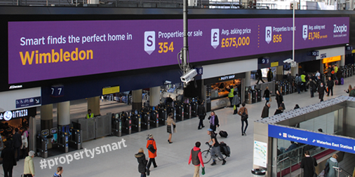 WIN a £25 DIY voucher! Follow & RT to enter - @Zoopla brightening up Waterloo Station #propertysmart ends tmrw 10am http://t.co/pATHI3XfZX