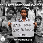 RT @WeCanEndPoverty: 8 March is Intl #WomensDay! Follow the hashtag #IWD2014 for stories, updates & photos: http://t.co/nrrmW7Usl8 http://t.co/SwKy74O23J