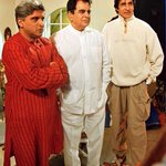 RT @AbhiAsh_IndoFc: @SrBachchan sir... another one with @TheDilipKumar  and @Javedakhtarjadu http://t.co/r0ePUJ7bp6