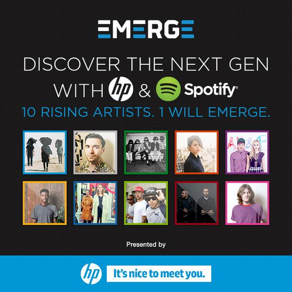 10 rising stars, 1 will Emerge. Discover the next generation of music talent #nicetomeetyou http://t.co/1gW7SUg3CC http://t.co/KwBSgoYFgO