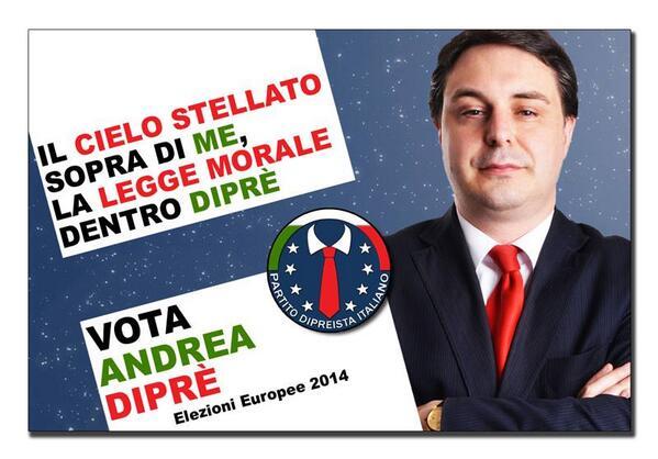Andrea Diprè (@AndreaDipre): PARTITO DIPREISTA ITALIANO http://t.co/E8msQSERsl