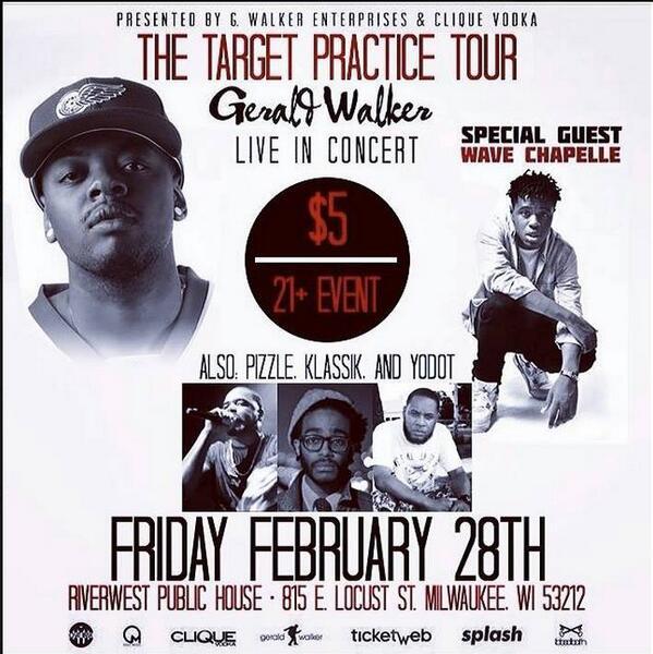 Tomorrow 2/28! @Gerald_Walker x @TheFakePizzle x @BLMNWAVE @IAMKLASSIK x @YODOT  at @RWPublicHouse!! http://t.co/8imZFpO8we