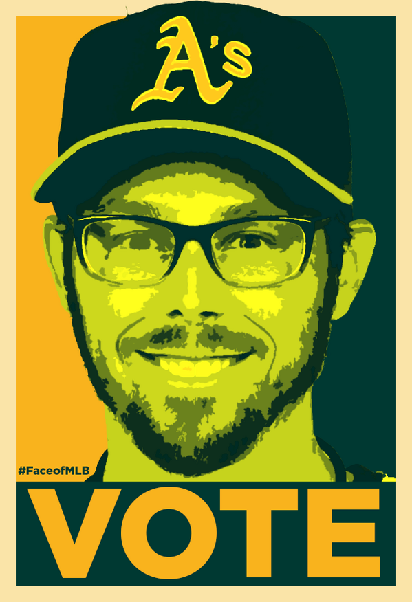 More votes, more often RT @andrewdrake @EricSogard @Athletics #FaceofMLB  Sogard FTW http://t.co/m3xADW6PyH #EricSogard @957thegame