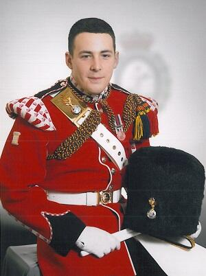 At Ease Drummer Rigby, thank you for your service to our country, rest in peace solider http://t.co/5uYaGpytoA
