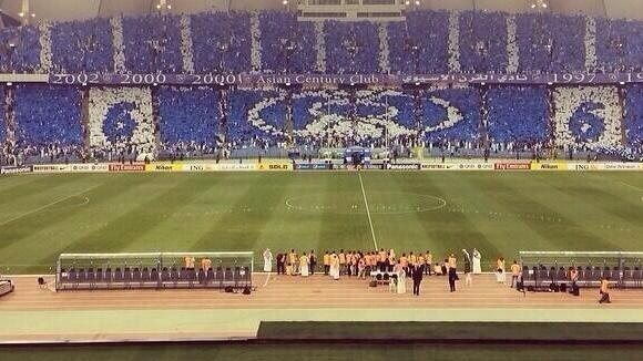 "Great display from All Hilal fans last night! ""@HilalOcean: @AsianFballFeast @Alhilal_FC Tifo AlHilal  FC http://t.co/crOJtCpyGF"""