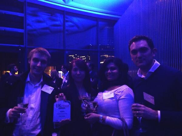 We won the best cloud accounting software at the @UKCloudAwards - Well done team! http://t.co/sMhZ7ylGj1