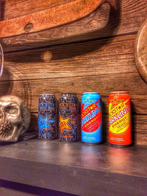 The new @rockstarenergy flavors #purezero an #SparklingEnergy http://t.co/pG0DwiSmzg