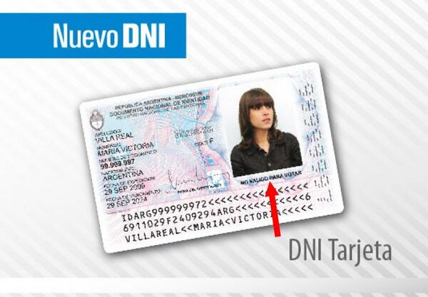 "Argentina: un país donde podés votar con un documento que dice ""NO VALIDO PARA VOTAR""... porque Argentina http://t.co/miWwSngvpr"