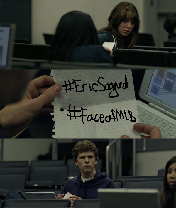 Be more social with your network. Don't just pass a note, retweet to vote #EricSogard for #FaceofMLB. #NERDPOWER http://t.co/C2gm0awZPO
