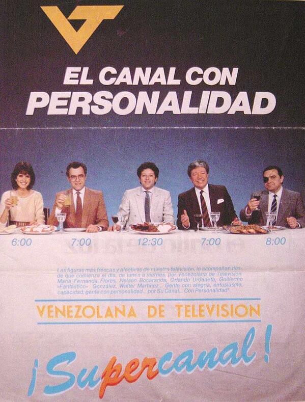 Cultura Popular Venezolana: No olvidemos que así fue alguna vez el Canal del Estado VTV ---> http://t.co/T68REnyYO0