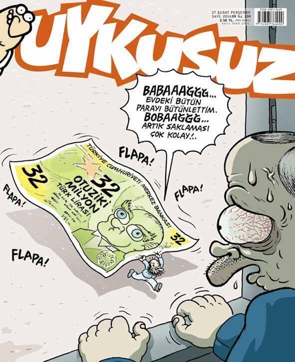Bilal Erdoğan Uykusuz'un kapağında: 'Baba evdeki bütün parayı bütünlettim' http://t.co/1UO4GVGjQZ http://t.co/2Sfa3MPsM2