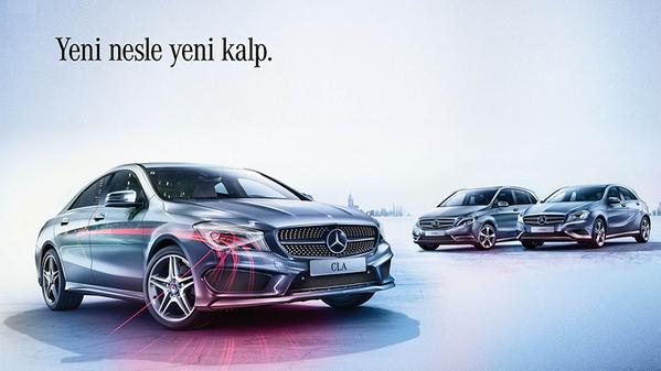 """""""Yeni nesle, yeni kalp."""" bu tweeti RT eden 5 takipçimiz Mercedes-Benz hediye seti kazanıyor! #Aşıkolduğunda http://t.co/XaPjek4ZOC"""