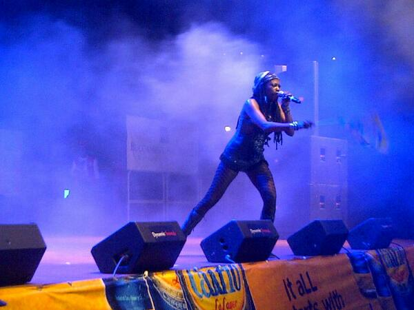 """CONGRATS @fyaempress on WINNING Tobago's Calypso Mon 2014 - """"JUST""""- JUST another step in the ladder of success ☑ http://t.co/OLExaMj2iZ"""