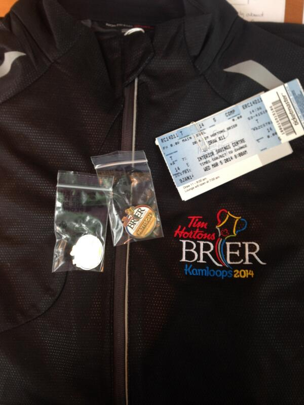 #Brier Giveaway!  2 tix to Wed Mar 5th 8:00am draw, breakfast vouchers, jacket and 2 pins!  RT to enter! Draw at 3pm. http://t.co/5GPjjWfeJw
