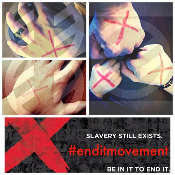Help end slavery! RT & get the word out today!  http://t.co/SAosbSPnJF #enditmovement http://t.co/0itLGEoHIT