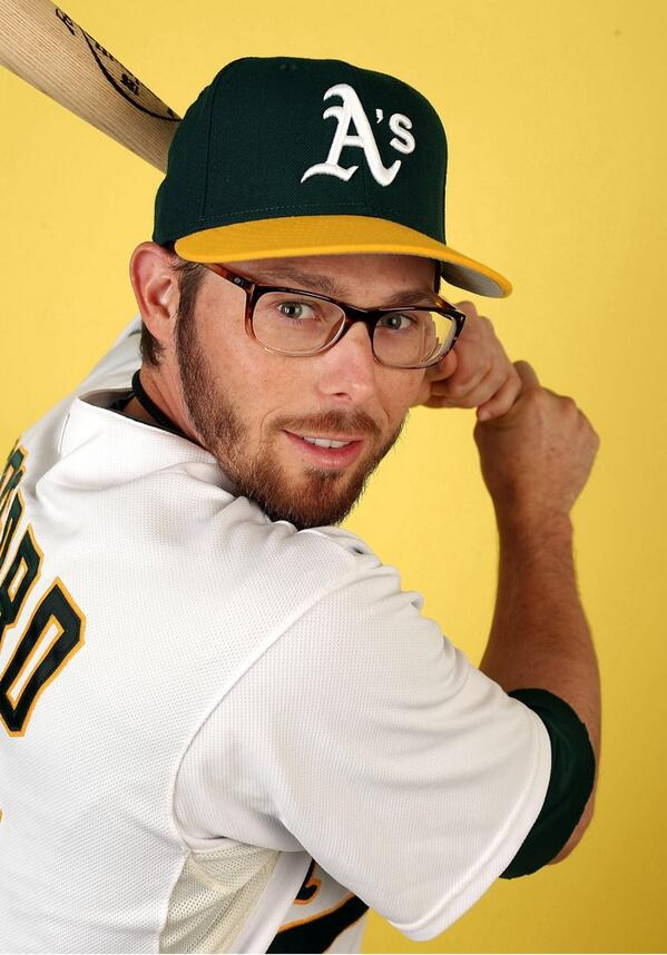 A's fans, YOU ARE AMAZING! We can do this! Retweet to make #EricSogard the #FaceOfMLB! #NERDPOWER http://t.co/VO6deLQ5RE
