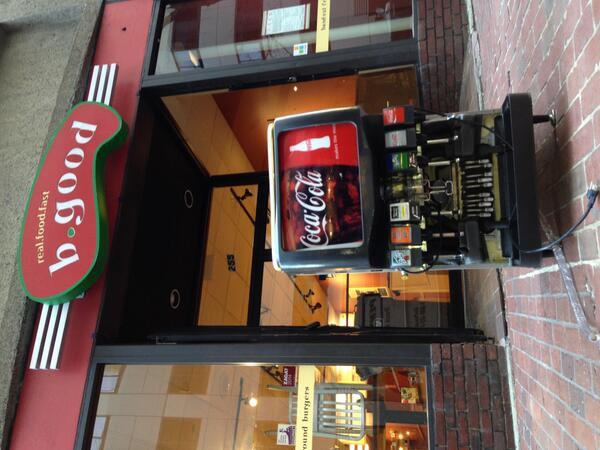 Good bye & good riddance, Coke! (You never should've been here in 1st place.) Maine Root now flows @ Washington St http://t.co/wI6cEsZ3uO