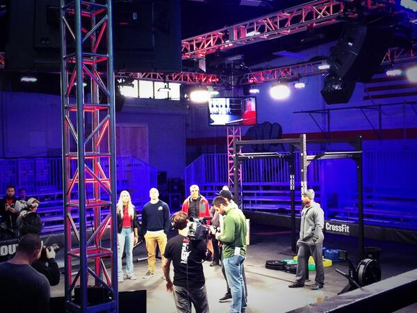 Prep time. #CrossFitGames http://t.co/NrBZ9KwyLA