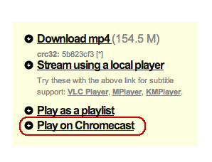 Ladies and Gentlemen: Our video pages can now sense that you have a Chromecast in da house. http://t.co/vu78c24gJO