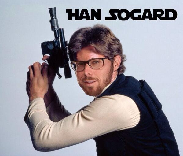 This #EricSogard as Han Solo meme is my favorite so far. #FaceofMLB. RT if you dig it. Or tweet me your favorite. http://t.co/U8XO2xeQgc