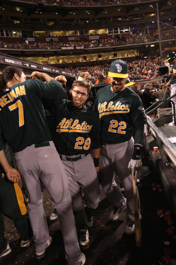 Never count the A's out! RETWEET to make #EricSogard the #FaceOfMLB. http://t.co/mUBpF4hHNa