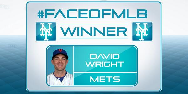 #CaptainAmerica is the new #FaceofMLB! Congratulations to @Mets captain #DavidWright, who joins #MLBNHotStove now! http://t.co/IlpahLignA