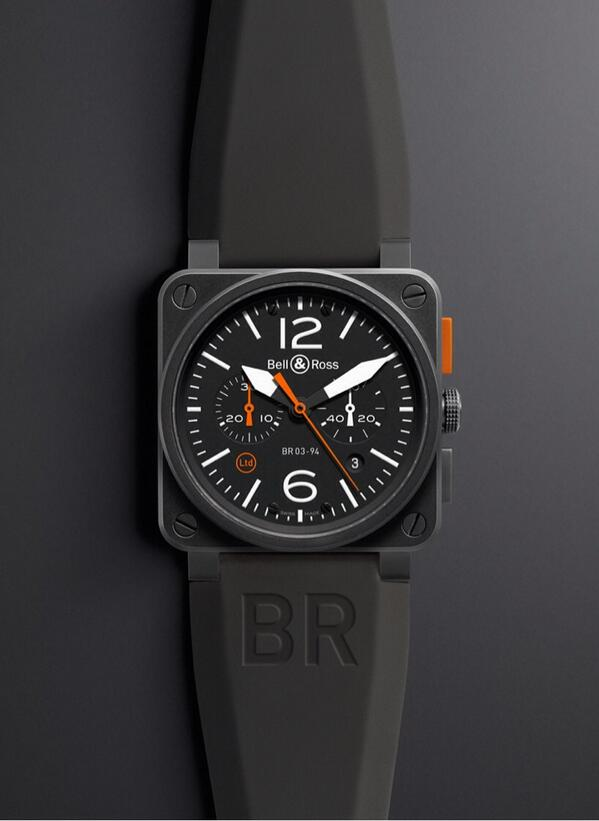 In 2014, Bell & Ross presents the BR 03-94 Carbon Orange: optimum legibility in all circumstances! #bellross http://t.co/n7E8eHOzGO