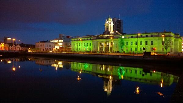 The greening of Cork. #GlobalGreening http://t.co/DSFpcsbbmz