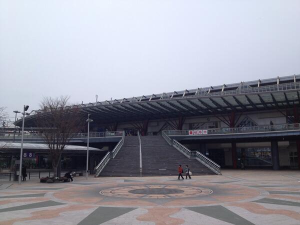 恋愛ラボの舞台、岐阜に到着! 写真は岐阜駅。