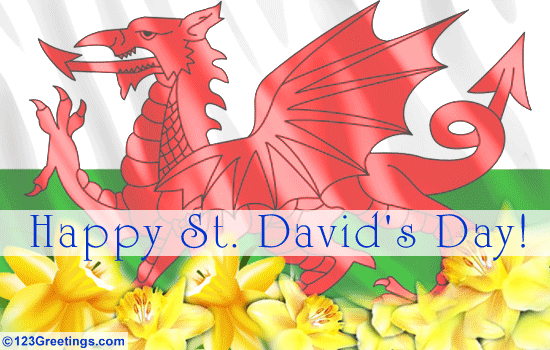 Bore Da! Happy St David's Day to  all and hey, first day of Spring?  :-))) http://t.co/QkqyVacpKz