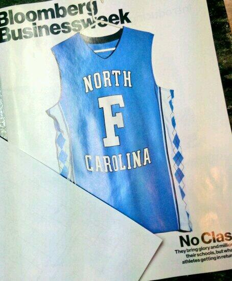 UNC's failure makes cover of #businessweek. Glad I'm at #ECU, and not UNC-Greenville. http://t.co/h0ecitHxKd