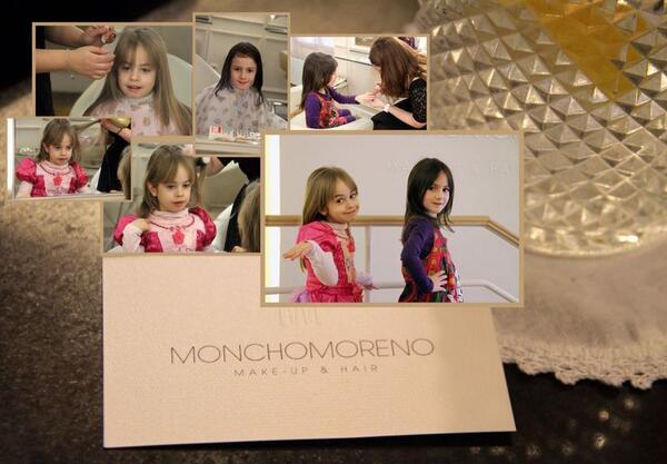 Maria Arellano (@MapilinMaria): DEFINITIVAMENTE @MONCHOMORENO2 . Gracias Blanca por dejar tu monas a nuestras niñas#vivaundiadepelucontuhija http://t.co/oiIHShxPMM