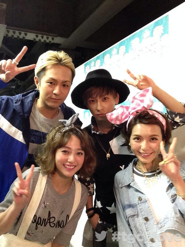 東京ガールズコレクション'14 S/S at バックステージ!http://t.co/0swC7EsVRz #tgc_love with AAA @AAA_staff http://t.co/xelrHBQRLI