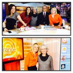 Did you guys see our first #PlazaFanOfTheDay on TV? How great was she? Happy 60th Diane! #OrangeRoom http://t.co/92n3OLv4ej