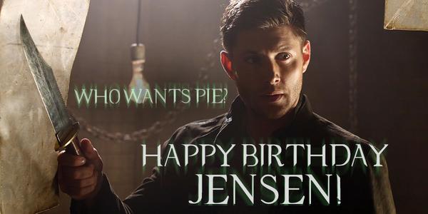 Happy Birthday Jensen Ackles Supernatural Scoopnest