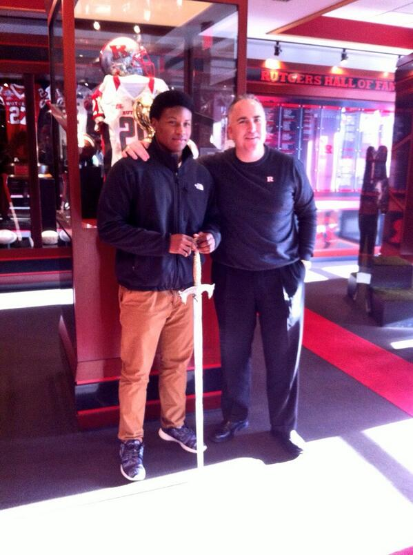 """Hey now ✊""""@jforrest_21: Great time at Rutgers..love the coaching staff ! #RU #Chop http://t.co/d5ldUsyrfO"""""""